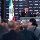 El presidente no tiene amigos, afirma Peña ante 300 líderes