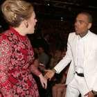 Adele nega ter brigado com Chris Brown durante o Grammy