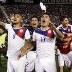 Vidal y lo que no viste de la CONMEBOL (fotos)