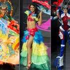 Índia, robô, diabinha: veja o desfile de trajes típicos ...