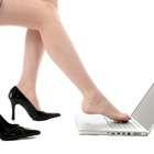 Mulheres que usam salto no trabalho parecem superficiais...