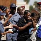 Llanto y rabia en el último adiós de los sudafricanos a ...