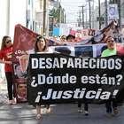 Madres de desaparecidos marchan en Nuevo León