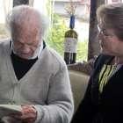 Bachelet visita a Nicanor Parra para festejar sus 100 años