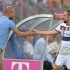 Ribery podría perderse duelo de vuelta ante Porto por lesión