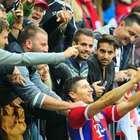 Bayern Munich: Robert Lewandowski festeja doblete con selfie