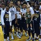 Utah Jazz le cumplen sueño a niño con leucemia linfoblástica