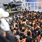 Franceses resgatam 253 imigrantes africanos no Mediterrâneo
