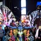Heidi Klum: así se transformó en mariposa para Halloween