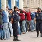 Detenidos ultras del Sevilla por pegar a hinchas del Betis