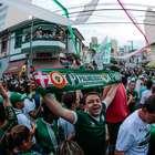 Palmeiras fica perto de entrar em Top 10 mundial de sócios