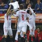 El Sevilla gana al Celta y mantiene el Pizjuán inexpugnable
