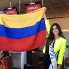 Así va la visita de la Miss Universo Paulina Vega a Colombia