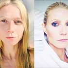 Cara lavada x make: Gwyneth Paltrow mostra transformação
