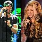 Cantantes poco originales: Enrique Iglesias, Shakira y más