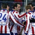 El Atlético bate 2-0 a un Granada que sigue colista