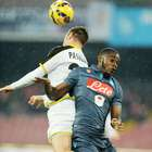 La suerte de los penaltis estuvo a favor del Napoli en Copa
