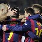 Messi, Neymar score twice as Barça thrash Elche