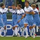 Imágenes de la victoria del Lazio de Roma ante AC Milán.