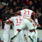 Imágenes de la victoria del Mónaco en la cancha del Lille