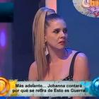 Johanna San Miguel revela motivo de salida de Esto es Guerra
