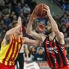 El Barça se aleja del liderato tras perder ante el Baskonia