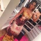 Bad look: namorada de Thammy erra com vestido decotado