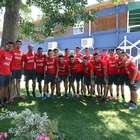 Selección: buen ánimo y camaradería reinan en Pinto Durán