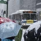 Tempestade de neve nos EUA é mais fraca que o esperado