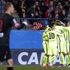 Barcelona culmina su obra ante Atlético y es semifinalista