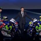 Rossi y Lorenzo brillan en la presentación del equipo Yamaha