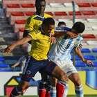 El empate de Argentina-Colombia en imágenes
