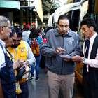 Fuerte fiscalización en el terminal de buses Santiago