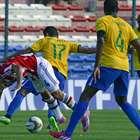 Las mejores imágenes del duelo entre Brasil y Paraguay