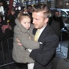 Hija de David Beckham dice que el exfutbolista está 'gordo'