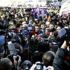 La manifestación de Podemos por Madrid, en imágenes