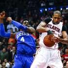 Hawks aumenta su récord a 19 victorias al hilo pese a susto