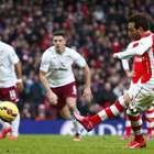 La goleada del Arsenal ante Aston Villa, en imágenes