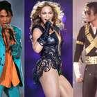 De Beyoncé a MJ: veja 19 trajes memoráveis do Super Bowl