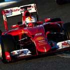 Vettel é 1º com Ferrari, e Mercedes faz