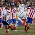 El Atlético de Madrid - Real Madrid, en imágenes
