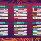 Definido el grupo de Colombia para el Mundial Sub 20