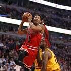 Derrick Rose sufre lesión en su rodilla y es baja para Bulls