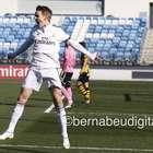 Odegaard marca su primer gol con el Real Madrid Castilla