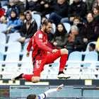 El Real Sociedad - Sevilla, en imágenes