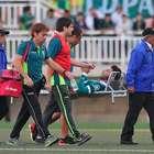 Wanderers iguala ante la U de Conce y sufre insólita lesión