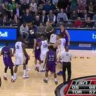 Pelea entre jugadores de Golden Warriors y Toronto Raptors