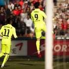 Com Neymar sumido, Suárez decide em vitória do Barcelona