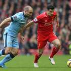 Liverpool's victory over Man City at Anfield, in photos