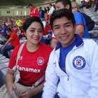 Aficionados de Toluca y Cruz Azul llenan el Nemesio Diez